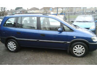2002 Vauxhall Zafira MPV 7 SEATER 1.6i ( NOW £850 with BEST OFFERS )