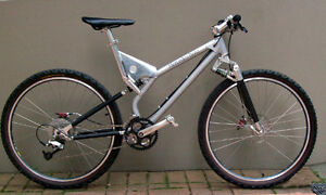 Mercedes-Benz Full-Suspension Mountain Bike