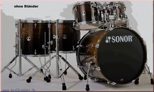 Sonor SSE17 Stage 622 Birch Shell Drum Set Burnt Fade- nur Trommelset