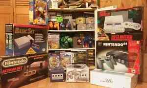 Looking for Nintendo Games and Consoles.