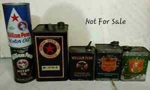 BUFFALO OIL CANS & OLDER WILLIAM PENN CANS WANTED Regina Regina Area image 5