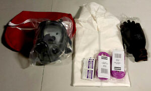 ( PPE) Personal Protection Kit - Fort McMurray- Respirators, etc