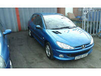 2005 PEUGEOT 206 1.4 cc ( LOW cc TIDY CAR FOR YEAR )