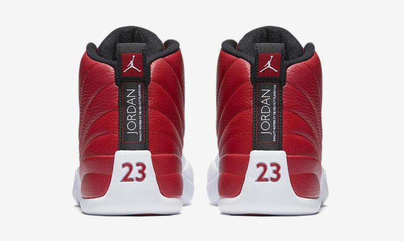 new concept ea34f 7c24c ... Nike Air Jordan 12 Retro Gym Red XII Size 6C-18 Alternate White Black  130690 ...