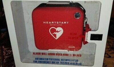 Philips Heartstart Hs1 Onsite Defibrillator With Alarm Case