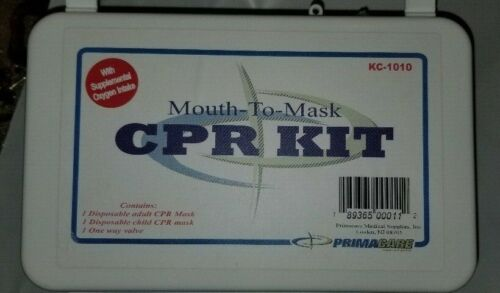 Primacare KC-1010 Universal Mouth-to-Mask CPR Kit