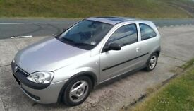 **SPARES OR REPAIRS** 1.2L SILVER CORSA, 3 DOOR, PETROL