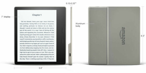 "Amazon Kindle Oasis (9th Generation) 32GB Wi-Fi 7"" FACTORY refurbished sealed"