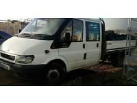 Transit crewcab dropside £1500
