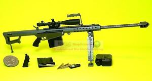 1:6 Scale Figure MODEL BARRETT M82A1-M M82A3 MARINE Sniper RIFLE GUN M82 M82_14