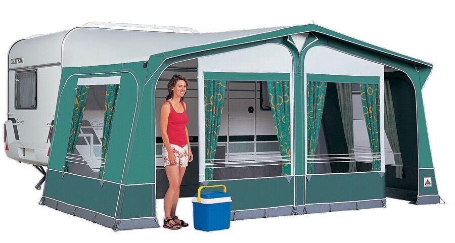 Caravan Awning Dorema Montana In Green Size 13 950 975 GBP