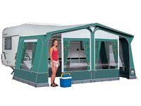 Caravan awning Dorema Montana, in Green, size 13 (950-975) £250 as new unused