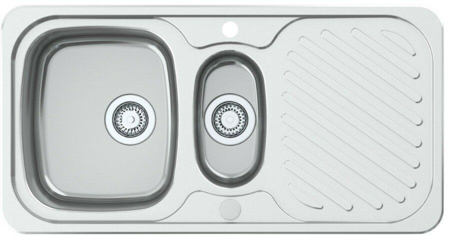 Astracast Ruby 965 x 500mm Stainless Steel 1.5 Bowl Kitchen Sink
