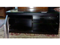 TV stand - black - £25 or nearest offer