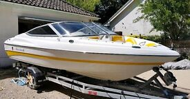 18ft speedboat low hours immaculate condition