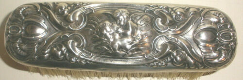 Antique Sterling Silver Unger brothers Repousse Art Nouveau Love