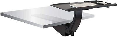 Mount-it Sit Stand Keyboard Tray Adjustable Under Desk Keyboard Full Motion