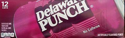 Delaware Punch    12Pk     Rare Find