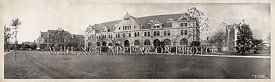 1909 Tulane University New Orleans LA Vintage Panoramic Photograph 23