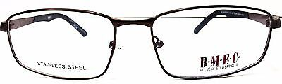 BIG MEN EYEWEAR CLUB BIG SHOW MATTE BROWN/ BLACK Prescription Eye Glasses frames