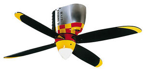 CRAFTMADE WARBIRD AIRPLANE GLAMOROUS GLEN Ceiling Fan