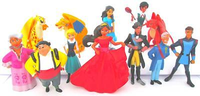 Elena Of Avalor 12 Figure Set Disney Pvc Toy Cake Topper Isabel Migs Luna Skylar