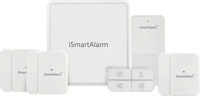 iSmartAlarm iSA8 Wireless Smart Home Security System _ Plus Package