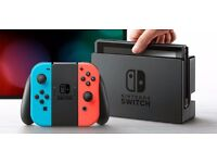Nintendo Switch Neon 32GB Red/Neon Blue Joy-Controller NEW SEALED with receipt