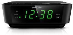 Philips AJ3116M/37 Digital Tuning Clock Radio (Black} NEW