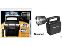 BRAND NEW: DURACELL DAYLITE TOUGH LED 6V CAMPING LANTERN SECURITY TORCH SPOTLIGHT