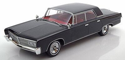 1965 Chrysler Imperial Crown 4-Door Black by BoS Models LE of 1000 1/18