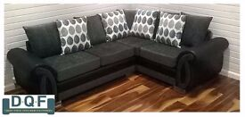 BRAND NEW DQF Helix 9ftx7ft Corner Sofa. ONLY £699!!