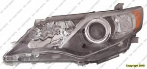 Head Lamp Driver Side HID Without Bulb/Module High Quality Toyota Camry 2012-2014