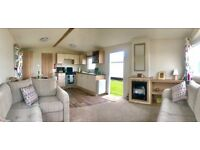 BEAUTIFUL NEW 2017 STATIC CARAVAN FOR SALE DOUBLE GLAZE / CENTRAL HEATING , PARK RESORTS nt HAVEN