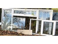 PVC Windows and doors- bargain if you are refurbishing your house - bargain at £40