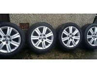 17 inch 5x112 alloys wheels