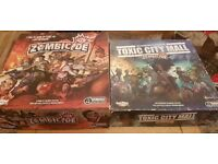 Classic Zombicide & Toxic City Mall (Sold Together or Separately)