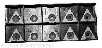 Rishet Tools Tpgb 321 C5 Uncoated Carbide Inserts - Box Of 10