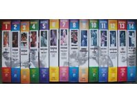 Collection Of 14 Boxing VHS Video Cassettes Marshall Cavendish No 1 To 14