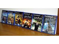 Harry Potter PS2 Games, Various.