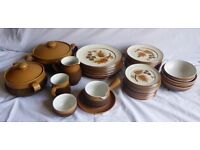 Perfect condition Retro Cotswold DENBY crockery set-1980s wonder! (Incomplete due to use/breakages!)