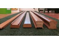 Various Meranti Stair Parts for 41mm Spindles