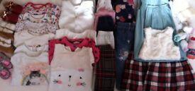 Girls clothes 9-12/12-18 months
