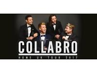 2 x Collabro Tickets Blackpool