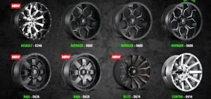 !!FUEL OFFROAD RIMS!!  WHOLESALE WHEEL WAREHOUSE !!FUEL RIMS & THOR RIMS!! COMFORSER / MUDTRACKER  - WE SHIP AND INSTALL