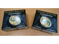 Harry Potter and the Deathly Hallows Audio Book CD's