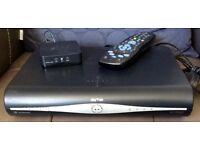 Sky HD+Box with wi-fi connector box & remote