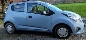 Bargain Lovely Light Blue Chevrolet Spark KL1M 2012
