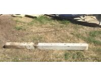 Concrete fence post 1.8 metres 100mm square