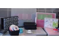 """Massive CARD MAKING , SCRAPBOOKING CLEAR OUT – A3, A4,A5 12 x 12"""" Storage , card stock, punches,"""